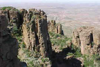 Valley of Desolation near Graaff-Reinet